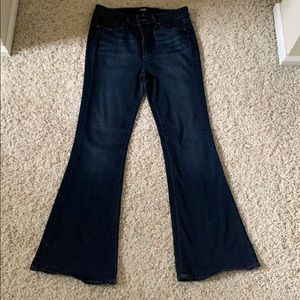 Paige high rise bell canyon jeans. Size 29.